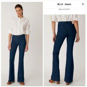 M.i.h jeans size 30 marrakesh high rise kick flare